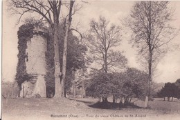 CPA - MACHEMONT (oise) - Tour Du Vieux Château De St Amand - Autres Communes