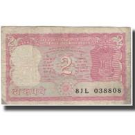 Billet, Inde, 2 Rupees, KM:53Aa, B - Inde