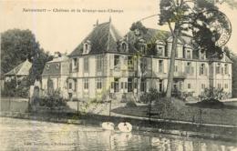 55.  NETTANCOURT . Château De La Grange Aux Champs . - Francia