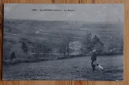 36 : Sainte-Sévère / Sainte-Sévère-sur-Indre - Le Moulin - Animée : Petite Animation - Chien - (n°15434) - Francia