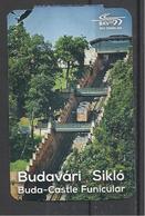 Hungary, Buda - Castle  Funicular, 2017. - Tram