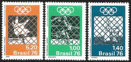 V) 1976 BRAZIL, 21ST OLYMPIC GAMES, MONTREAL, CANADA, MNH - Brazil
