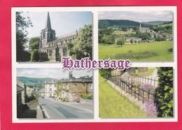 Modern Multi View Post Card Of Hathersage,Derbyshire,Z24. - Derbyshire
