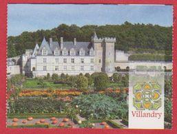 Château De Villandry. Indre Et Loire (37), Visuel: Château Et Jardin. 2019. - Tickets D'entrée