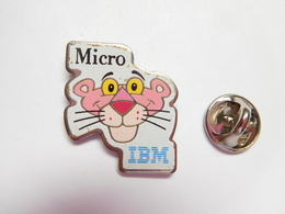 Beau Pin's , Informatique , IBM , Pink Panther - Computers