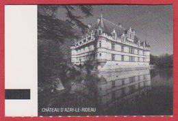 Château D' Azay Le Rideau. Indre Et Loire (37), Visuel: Le Château. 2019. - Tickets D'entrée