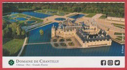 Domaine De Chantilly. Oise (60), Visuel: Le Château. 2019. - Tickets D'entrée