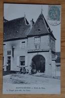 36 : Sainte-Sévère / Ste-Sévère-sur-Indre - Hôtel De L'Ecu - Animée : Petite Animation - (n°15464) - Otros Municipios