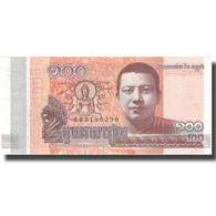 Billet, Cambodge, 100 Riels, 2014, 2014, SPL+ - Cambodge