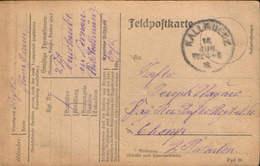 Germany/Empire -  Military Postcard Circulated In 1918 From Kallmünz - Brieven En Documenten