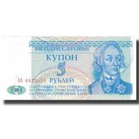 Billet, Transnistrie, 5 Rublei, 1994, 1994, KM:17, SPL - Russie
