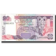 Billet, Sri Lanka, 20 Rupees, 1995-11-15, KM:109a, TTB+ - Sri Lanka