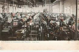 """""""U.S. Bureau And Printing.Press Room""""  Tuck Postcard Series # 2334 - Tuck, Raphael"""