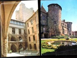 2 CPSM NARBONNE-- Ancien Archevêché,actuel, Musée Des Beaux-Arts & - Narbonne