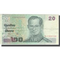 Billet, Thaïlande, 20 Baht, Undated (2003), KM:109, TB+ - Thailand