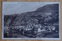 43 : Chamalières - Vue Générale - Environs De Retournac - Bords Recoupés ??? - (n°15498) - Frankreich
