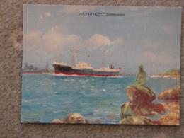 EVERARD LINE ASTRALITY AT COPENHAGEN - OFFICIAL - Cargos
