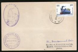 India 1994 Antarctica 13th Scientific Expedition Cover Maitri P.O Cancel # 7237A - Forschungsprogramme
