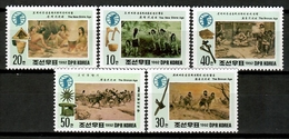 Korea North 1992 Corea / Prehistory MNH Prehistoria Prähistorie / Cu12925  34-9 - Prehistoria