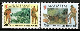 Korea North 1992 Corea / Prehistory MNH Prehistoria Prähistorie / Cu12932  34-37 - Prehistoria