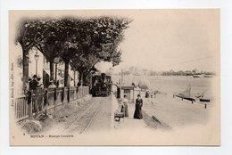 - CPA ROYAN (17) - Rampe Lessore (arrivée Du Train à Vapeur) - Edition Victor Billaud N° 4 - - Royan