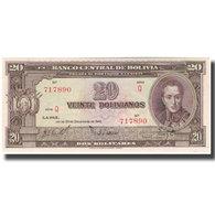 Billet, Bolivie, 20 Bolivianos, 1945-12-20, KM:140a, NEUF - Bolivie
