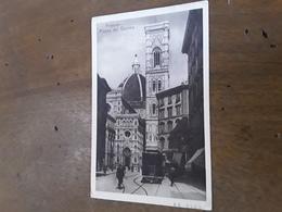 Cartolina Postale 1932, Firenze Piazza Del Duomo - Firenze (Florence)
