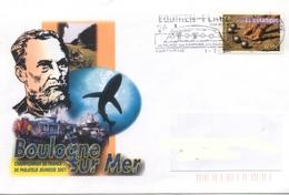 France, Flamme Equihen Plage (62) Les Quilles En L'air - Marcophilie (Lettres)