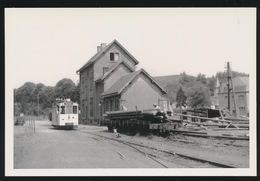 MARTELANGE   - AUTORAIL A DESTINATION DE BASTOGNE  - LIMITED EDITION 200 EX  1958  - 2 SCANS - Tramways