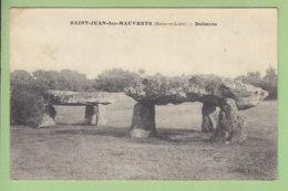 SAINT JEAN DES MAUVRETS : Dolmens. 2 Scans. Edition F G - France