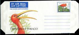 PA2150 Trinidad & Tobago 1980S Bird Red Dragonfly  Aerogramme - Trinidad Y Tobago (1962-...)