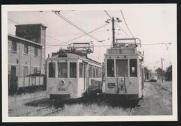 OREYE  DEPOT VICINAL    - LIMITED EDITION 200 EX  1959  - 2 SCANS - Tram