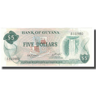 Billet, Guyana, 5 Dollars, KM:22d, NEUF - Guyana