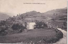 CPA : La Batie D'Andaurel (07)  Les Avenelles   (hameau)     Ed  Valence Lamastre - Autres Communes