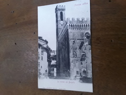 Cartolina Postale 1900, Firenze Le Carceri Del Bargello - Firenze (Florence)