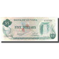 Billet, Guyana, 5 Dollars, KM:22d, SPL - Guyana