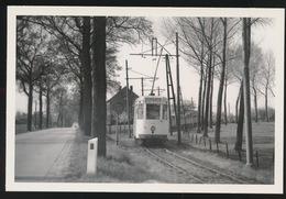 KWABEEK LEERBEEK VAN DE LIJN BRUSSEL HALLE LEERBEEK      - LIMITED EDITION 200 EX  1960  - 2 SCANS - Tranvía