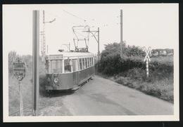 WANFERCEE BAULET  LIGNE §è CHARLEROI  NAMUR       - LIMITED EDITION 200 EX  1960  - 2 SCANS - Tramways