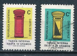 °°° ARGENTINA - Y&T N°1567/68 - 1987 °°° - Argentina