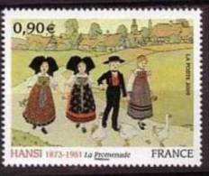 "FR YT 4400 "" Peintre Alsacien HANSI "" 2009 Neuf** - France"