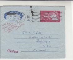 G.B. / Aerogrammes / Parliament / Clocks / Hawaii Paquebot Mail - Ohne Zuordnung