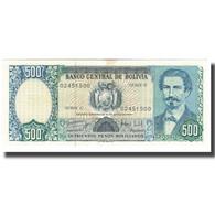Billet, Bolivie, 500 Pesos Bolivianos, 1981-06-01, KM:166a, SUP - Bolivie