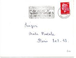 MARINE = 14 BAYEUX 1970 = FLAMME Codée = SECAP Illustrée De Drakkar + 'TAPISSERIE / Visite Téléguidée' - Marcophilie (Lettres)
