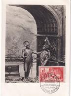 FRANCE 1954 CARTE MAXIMUM BOULOGNE SUR MER  LA LEGION D'HONNEUR - 1950-59