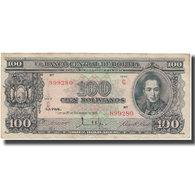 Billet, Bolivie, 100 Bolivianos, 1945-12-20, KM:142, TTB - Bolivie