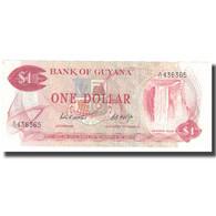 Billet, Guyana, 1 Dollar, KM:21b, NEUF - Guyana