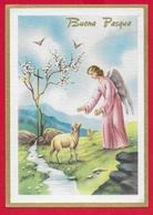 CARTOLINA VG ITALIA - BUONA PASQUA - Angelo Pastore - Ediz. Rinup. - 10 X 15 - 1963 CODROIPO - Pasqua