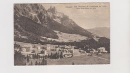 S. Martino Di Castrozza (TN)  - F.p. -  Anni '1930 - Trento