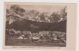 S. Martino Di Castrozza (TN)  , Ediz Nanni Gadenz - F.p. -  Anni '1940 - Trento