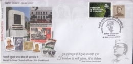 India 2016  INA Commander  Netaji Subhash Chandra Bose Tiger Flag Special Cover With Label  #15684  D  Inde Indien - India